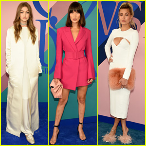Bella Hadid Is Bangin' at CFDA Awards with Gigi Hadid & Hailey Baldwin!