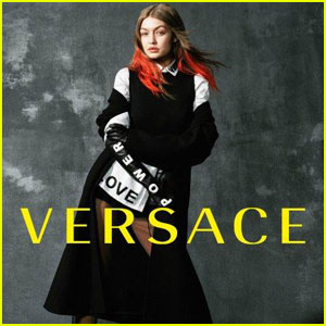 Gigi Hadid Promotes Power & Love in New Versace Fall 2017 Campaign