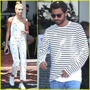 Hailey Baldwin Hangs Out with Scott Disick in LA