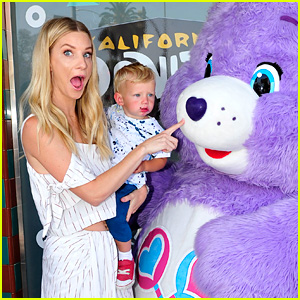 Heather Morris Treats Son Owen to a Care Bears Donut!