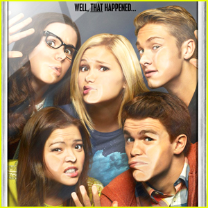 Olivia Holt & Her 'I Didn't Do It' Cast Finally Reunite - Pic Inside!