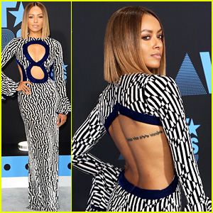 Kat Graham Rocks Sexy Cut-Out Dress at BET Awards 2017!