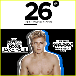 Jake Paul Goes Shirtless For '26' Magazine Debut Issue