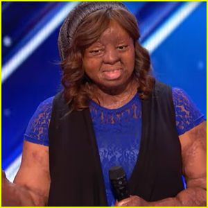 Plane Crash Survivor Kechi Wows AGT Judges with 'Thinking Out Loud' Performance (Video)