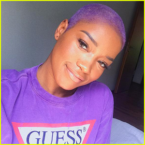 Keke Palmer Shaved Her Hair Dyed It Purple Amp It Looks So