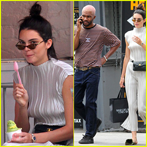 Kendall Jenner Grabs a Sweet Treat with a Famous Friend!