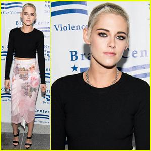 Kristen Stewart Stands Up Against Gun Violence At Bear Awards Gala!