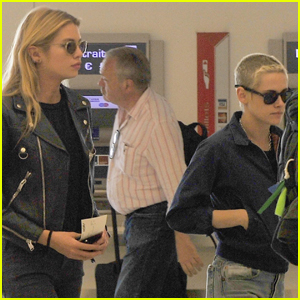 Kristen Stewart & Girlfriend Stella Maxwell Keep Their Paris Trip Short