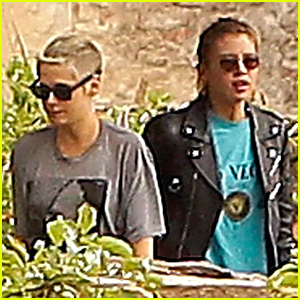 Kristen Stewart Gets Girlfriend Stella Maxwell's Support at Photo Shoot in France