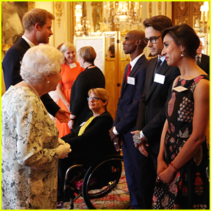 Liam Payne Meets Queen Elizabeth II at the Young Leaders Awards 2017