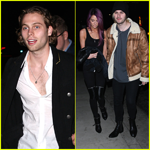 5SOS's Luke Hemmings & Michael Clifford Have Guys Night Out in Hollywood