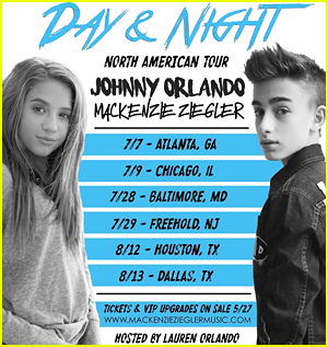 Mackenzie Ziegler Is Planning Her Pranks To Pull on Johnny Orlando During Tour (Exclusive)