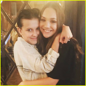 Millie Bobby Brown & Maddie Ziegler Are Friendship Goals!