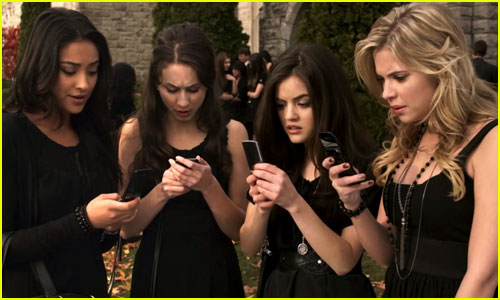 The Stars of 'Pretty Little Liars' Reveal Their Favorite 'A' Texts (Exclusive Video)