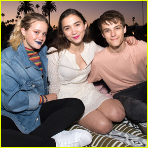 Rowan Blanchard Heads To The Movies With Corey Fogelmanis & Ava Phillippe!