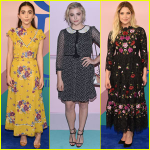 Rowan Blanchard, Chloe Moretz, & Ashley Benson Are CFDA Beauties in NYC