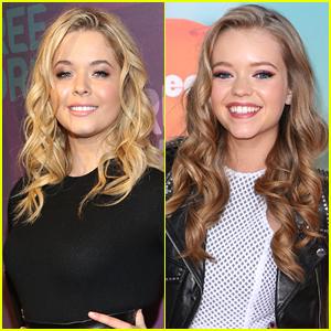 PLL's Sasha Pieterse Has A Secret Celeb Twin -- Nickelodeon's Jade Pettyjohn!