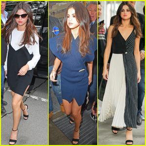 Selena Gomez Looked So Chic In Six Outfits Yesterday - See Them All!