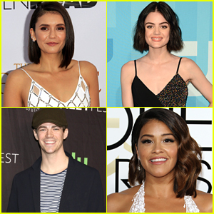 Here's How Lucy Hale, Nina Dobrev, Grant Gustin & More Reacted To Their Teen Choice Nominations
