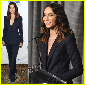 Troian Bellisario Delivers Inspiring Speech at National Eating Disorder Association Gala
