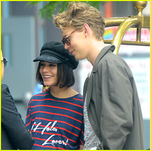 Vanessa Hudgens & Austin Butler Take Their Love to the Hamptons!