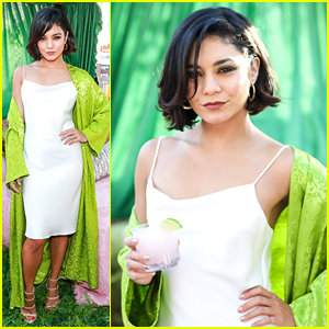 Vanessa Hudgens Nails Summer Pool Party Style