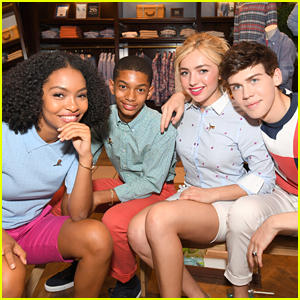 Peyton List, Aidan Alexander & Yara Shahidi Get Their Summer Camp Fix at Brooks Brothers' Party