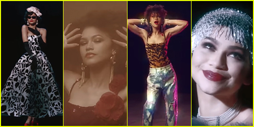 Zendaya Models Stunning '100 Years of Beauty' Looks For 'Vogue' Mag