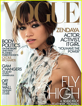 Zendaya Talks Disney, Having Power & More for 'Vogue' Cover!