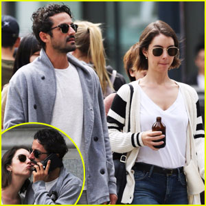 Adelaide Kane Kisses Mystery Man in Vancouver
