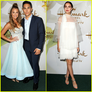 Alexa PenaVega Turns Into Cinderella For Hallmark's TCA Event