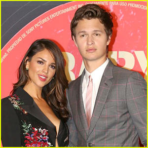 Ansel Elgort & Co-Star Eiza Gonzalez Premiere 'Baby Driver' in Mexico City!