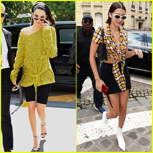 Kendall Jenner & Bella Hadid Bring Their Fashion A-Game to Paris
