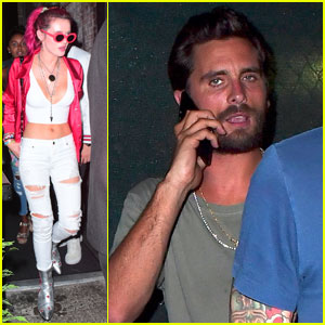 Bella Thorne & Scott Disick Meet Up in NYC