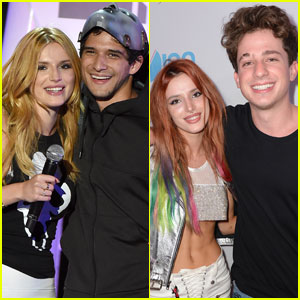 Bella Thorne Explains the Tyler Posey & Charlie Puth Cheating Drama - Listen Here!