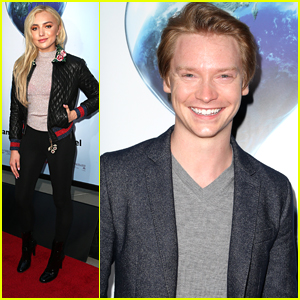 Peyton List Joins 'Thinning' Co-Star Calum Worthy At 'An Inconvenient Sequel: Truth To Power' Screening