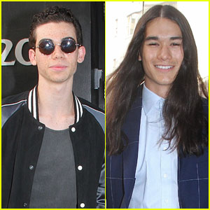Cameron Boyce & Booboo Stewart Take NYC By Storm For 'Descendants 2'
