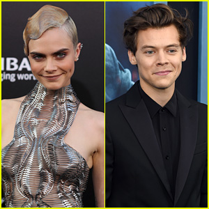 Cara Delevingne Sometimes Gets Compared to Harry Styles! (Video)