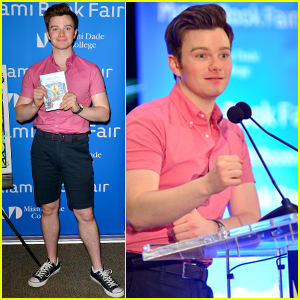 Chris Colfer's Book 'Land of Stories' Hits Number One on Best Seller's List!