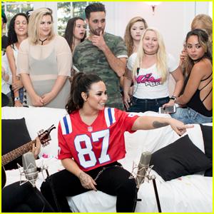 Demi Lovato Takes Her House Party Tour to Boston!