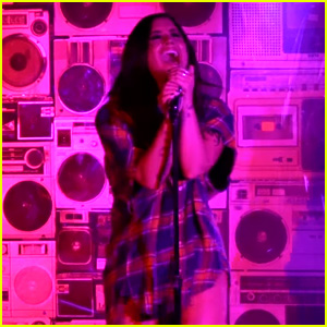 Demi Lovato Slays with 'Sorry Not Sorry' Performance at Single Release Party! (Video)