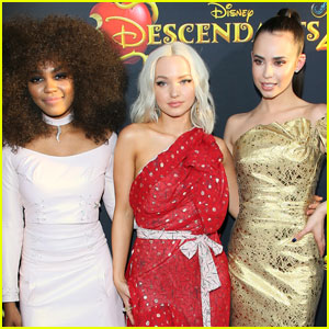 Descendants' Dove Cameron, Sofia Carson, & China Anne McClain Gush Over Each Other (Exclusive)