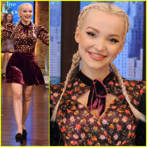 Dove Cameron Talks About Turning 21 on 'Live With Kelly & Ryan' (Video)