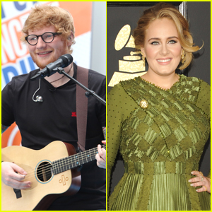 Ed Sheeran Wasn't Comparing Himself To Adele, He Was Aiming For Her Success