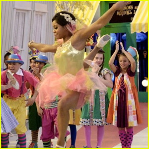 gabby douglas turns into a magical ballerina on nicky ricky dicky dawn sneak peek
