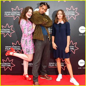 Georgie Henley & Ella Purnell Premiere New Film 'Access All Areas' in London & Edinburgh