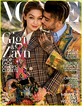 Gigi Hadid & Zayn Malik Are Couple Goals for Vogue's August 2017 Issue!