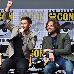 Jensen Ackles & Jared Padalecki Tease 'Supernatural' Season 13 at Comic-Con!