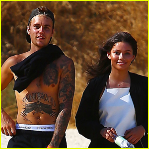 Justin Bieber Looks Hot on His Hike with a Friend!