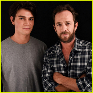 'Riverdale' Father & Son Duo KJ Apa & Luke Perry Are Really Close Off-Screen